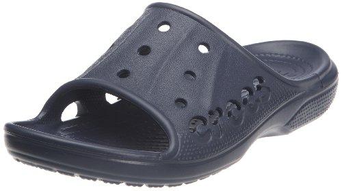 Crocs Baya Slide, Unisex - Erwachsene Dusch- & Badeschuhe, Blau (Navy), 45/46 EU - Crocs-damen Capri