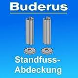 Buderus Rohr- und Fußabdeckung WE-825 BUD für Heizkörper Standkonsolen