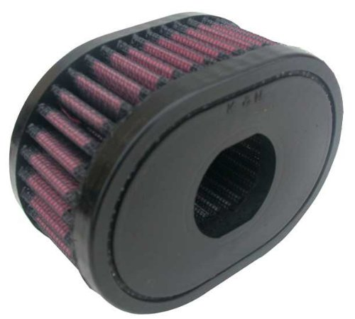 e-3019 K & N Oval Air Filter 10,2 cm X 2-7/20,3 cm 2-13/40,6 cm H, oval (rund Ersatz Filter)