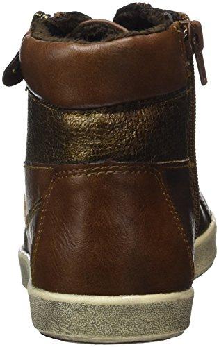 Jane Klain Women 252 253 High Sneaker Beige (cognac)