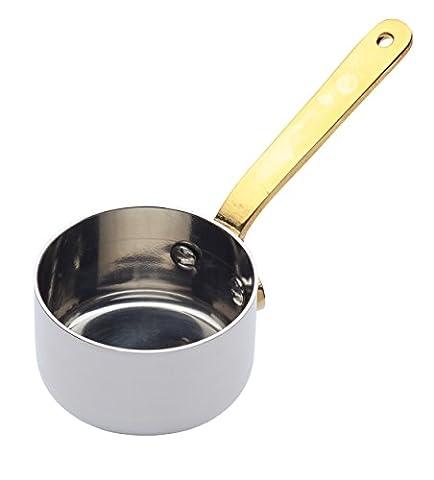 Master Class Professional Stainless Steel Tiny Saucepan / Sauce Serving Pot, 5 cm (2