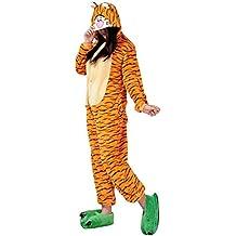 Mytom Kigurumi Pijamas Unisexo Adulto Traje Cosplay Homewear Halloween  Animal Pyjama 231e4dab6ace