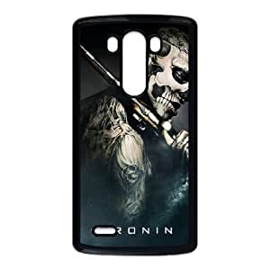 LG G3 Cell Phone Case Black 47 Ronin Savage Z6K6DO