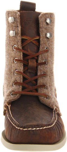 Sperry A/O 7 Eye Boot, Mocassins homme Marron foncé/tan
