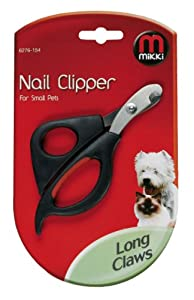 Mikki Grooming Nail Clipper for Small Pets from Interpet