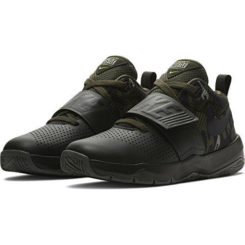 Nike Jungen Team Hustle D 8 (GS) Basketballschuhe, Grün (Sequoiablackvoltmedium Olive 301), 40 EU