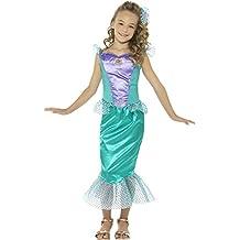 Smiffy 's–Disfraz de libro de las niñas de la Sirenita disfraz infantil día semana talla nuevo