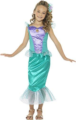 Imagen de smiffy 's–disfraz de libro de las niñas de la sirenita disfraz infantil día semana talla nuevo
