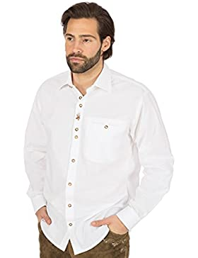 orbis Textil Trachtenhemd Weisso