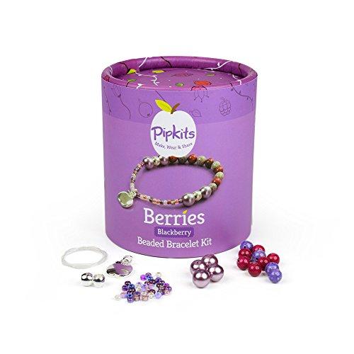 NEW & IMPROVED- Berries Bracelet Pipkit Blackberry (Makes 2 Bracelets)