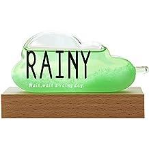 WTOKL Storm Glass Vidrio de tormenta Forma de Nube Pronóstico del Tiempo Decoración del hogar Regalo