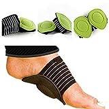 Urdhvamurti 1 Pair Foot Support Strutz Cushioned Arch Helps Decrease Plantar Fasciitis Pain