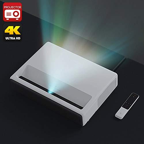 GENERISCHER Electric Xiaomi Mi Laserprojektor - 1080p native Auflösung, 4 K-Unterstützung, Miui TV, Quad Core-Prozessor, 3-Alpd. 0 Laserlichtquelle, 5000 Lumen