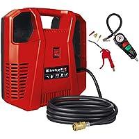 Compresor Einhell TH-AC 190 Kit (1.100W, potencia de extracción: 190 l/min, presión de trabajo máxima: 8bar)