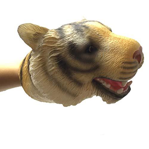 nosaurier-Handpuppen, weich, Rex-Tierkopf, realistisches Spielzeug für Kinder, Spielgeschichte für Halloween, Party, Spielzeug #02 ()