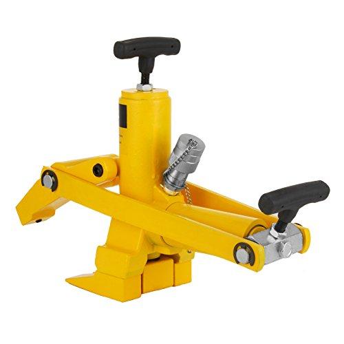 Moracle Desmontadora de Neumáticos Cambiador de Neumáticos Herramienta para Desmontaje Neumáticos de Coche y Camión (Amarillo 10000 PSI)