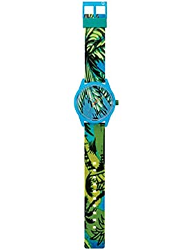 Q&Q SmileSolar Unisex Solar Uhr mit Plastik armband Analog Quarz RP00J027