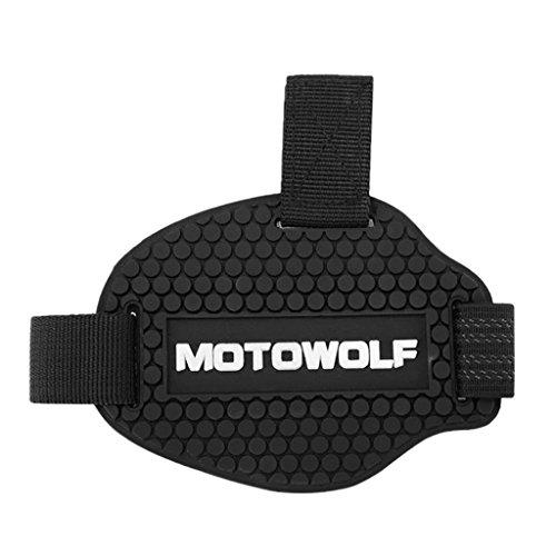 Preisvergleich Produktbild MagiDeal 1 Stück Gangschaltung Abdeckung Pad Schalthebel Schuh Stiefel Schutz Motorrad Beschützer Schutz