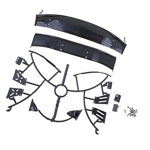 Baoblaze 1:10 RC Auto Zubehör Heckflügel Heckspoiler Wing (Rc-car Spoiler)