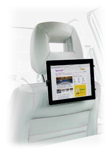 Kit Universal Tablet Halterung für Auto Kopfstütze Kompatibel mit 7-10 Zoll Tablets einschließlich iPad 2 / 3 / 4 / Air / Mini, Google Nexus 7 / 10 / Samsung Galaxy Tab 2 / 3 / 4, Kindle Fire HD / HDX und Tesco Hudl Tablet 2 - Schwarz