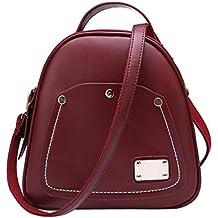 Retro Borsa Shell signore borsa zaino piccola borsa a tracolla bagaglio mela borsa multifunzionale