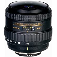Tokina 10-17 mm F:3.5 - 4.5 AT-X AF DX NH Fisheye - Objetivo para Nikon (Diámetro: 70mm), negro