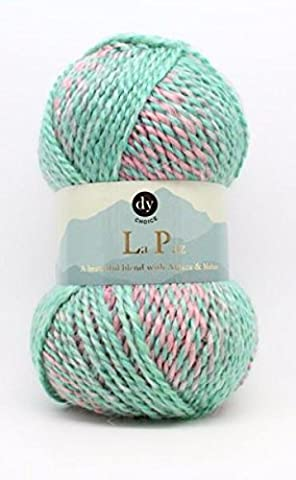 DY Choice LA PAZ Aran Knitting Yarn MOHAIR & ALPACA 100g 12 Bouquet