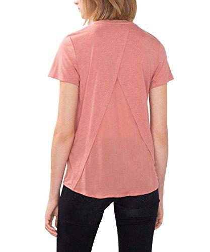 edc by ESPRIT Damen T-Shirt Rosa (BLUSH 3 667)