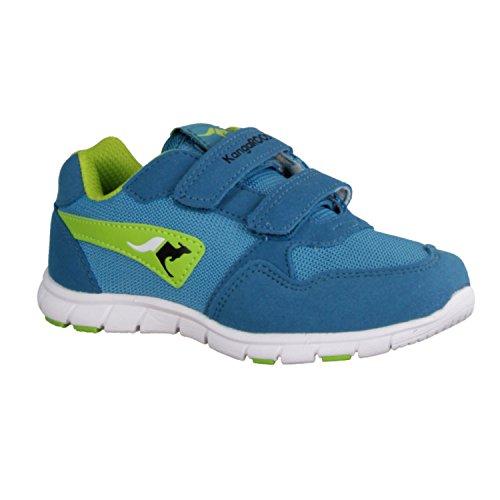 KangaROOS BlueRun Squash Unisex-Kinder Sneakers Blau