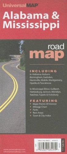 Alabama & Mississippi: Including: In Alabama: Auburn, Birmingham, Gadsden, Huntsville, Mobile, Montgomery, Opelika & Tuscaloosa; In Mississip