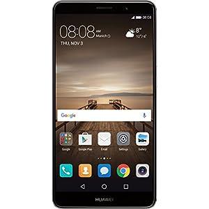 Huawei Mate 9 (20 MP + 12 MP Leica Dual-Kamera, 14,9 cm (5,9 Zoll), Kirin 960 Prozessor, mit HUAWEI SuperCharge, Android), grau