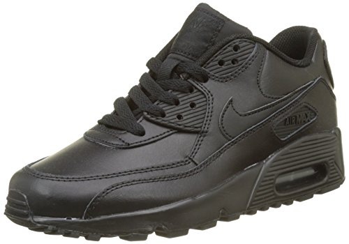 Nike air max 90 ltr (gs), scarpe da trail running bambino, nero black 001, 37.5 eu
