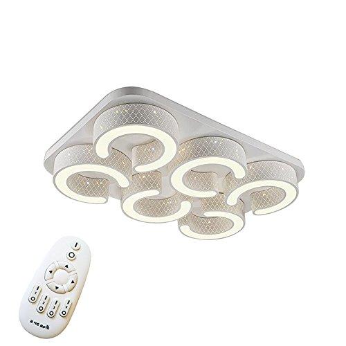 72W LED Deckenlampe Kreative Deckenleuchte 6 Lampe