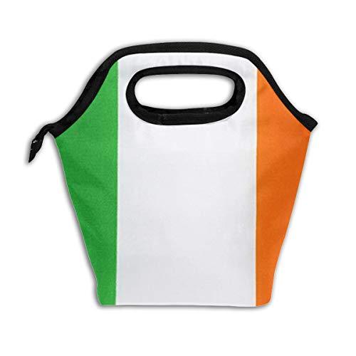 Bidetu Irish Flag Lunch Bag Einkaufstasche Lunch Bag Lunch Box Isolierter Lunch Container (Lunch-box Molle)