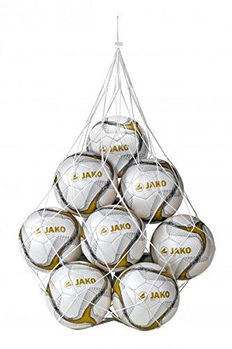 JAKO Ballnetz 10 Bälle , Farbe:weiß
