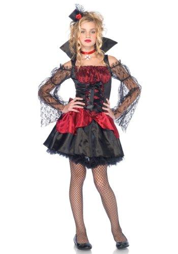 Leg Avenue J48042 - Junior Romantik Vampir Kostüm Set, Größe M/L, - Vampire Vixen Für Erwachsene Kostüm