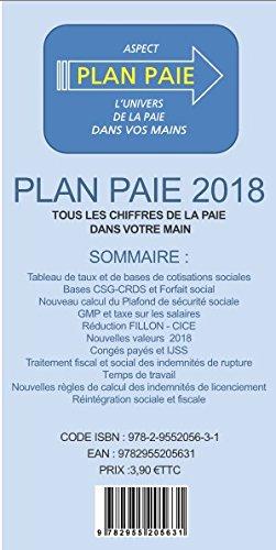 Plan Paie 2018