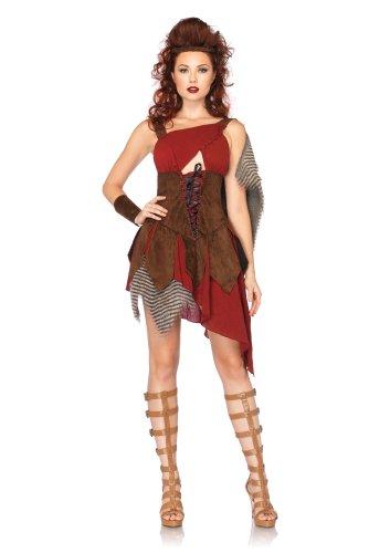 Leg Avenue 85131 - Jägerin Kostüm, Größe L, braun (Jägerin Erwachsenen Kostüme)
