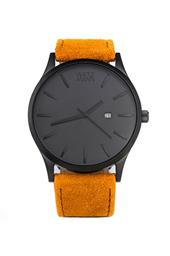 WATZMANN watch // grey edition - minimalistische Herrenuhr - Schweizer Uhrwerk
