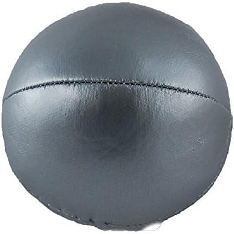 Giocolieri 6,3cm da giocoliere in argento, liscio, Bean Bag– - Argento Bean