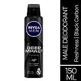 Nivea Men Deep Impact Freshness Deodorant Spray for Men, 150 ml