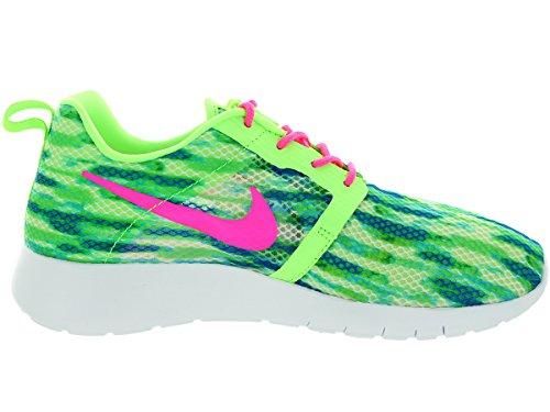 Nike Roshe One Flight Weight Gs, Entraînement de course fille green