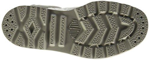 Palladium - Bgy Low Lp Mtl K, Sneaker Unisex – Bambini Bianco (Blanc (D37 White/Lunar Rock))