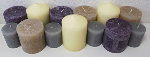 6-kg-lot-de-20-bougies-de-pilier-rustic-rustik-bougies-pilier-bougies-bougie-rustik-rustikk-minerais