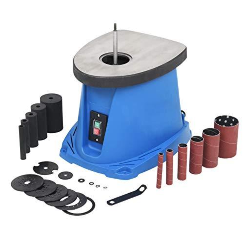 Festnight Spindelschleifmaschine Oszillierender Spindelschleifer 450 W Blau
