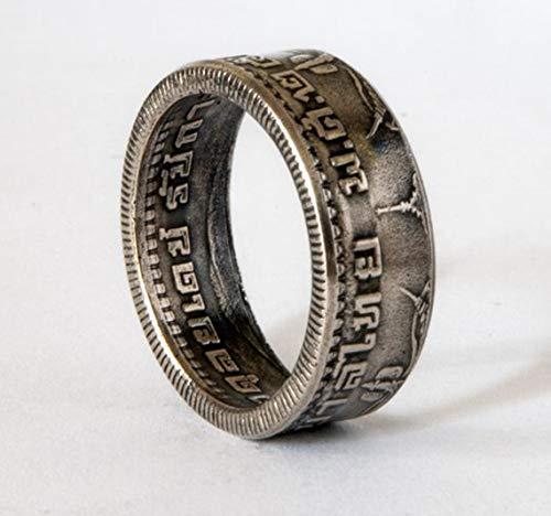 Thai Baht Ring, Buddhist, König Rama IX, handgemachtes Siegel, Schmuck, Promise Ringe, Verlobungsring, annivesary Ring, Hinduist Ring, Souvenir, Ehering (Versprechen Ringe Für Sie Unter 100)