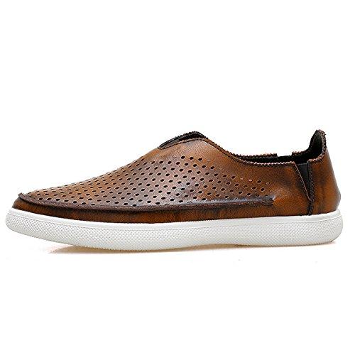 Miyoopark ,  Herren Sneaker Low-Tops Style2-Brown