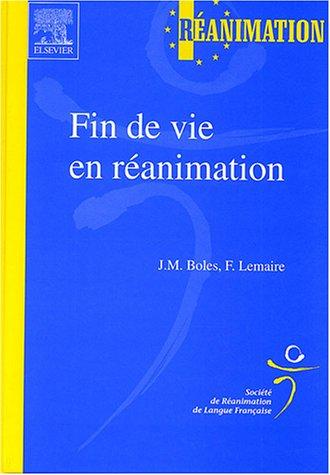 Fin de Vie en Ranimation - SRLF