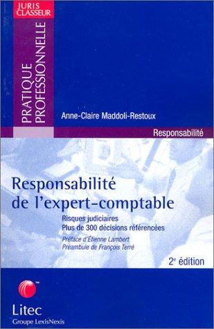 Responsabilité de l'expert-comptable (ancienne édition)