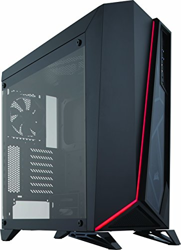 Corsair SPEC-OMEGA Case da Gaming Mid-Tower ATX con Vetro Temperato, Nero